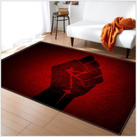 AOVOLL 2019 Top Sell Cool Logo Living Room Carpet Kids Room Carpet Bedroom Mats Rugs And Carpets For Home Living Room Carpets