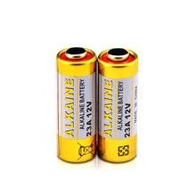 OOLAPR  10 Pcs 23A12V 23AE 21/23 23GA MN21 bateria uso Sinle alcalina E23A LRV08 N21 EL12v for Electronic toys doorbells