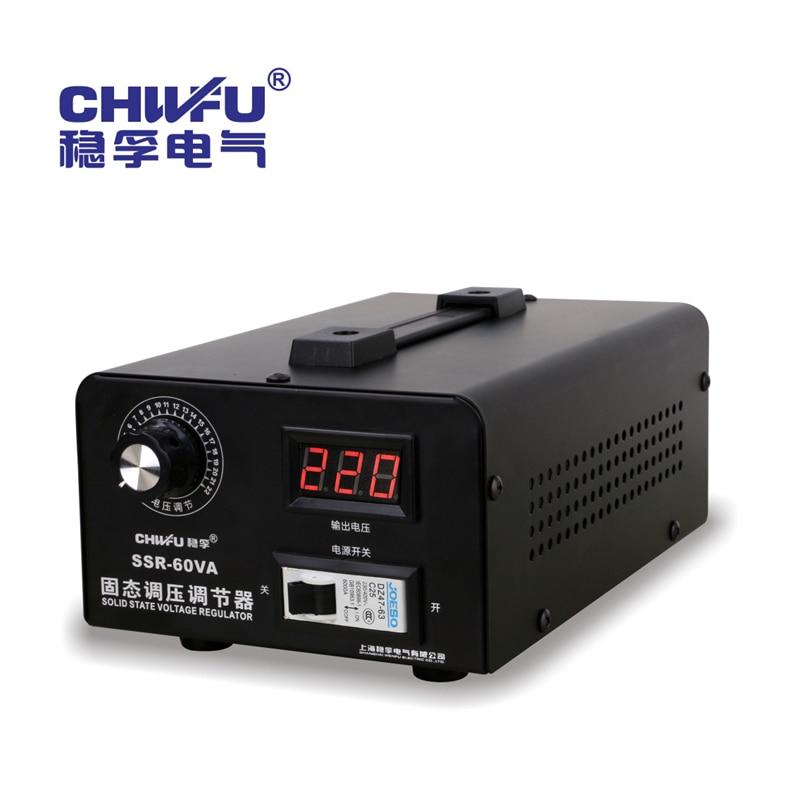 Solid State Voltage Regulator 220v Single Phase Electronic Thyristor Regulator High Power Voltage Regulator 0-220v Thermostat