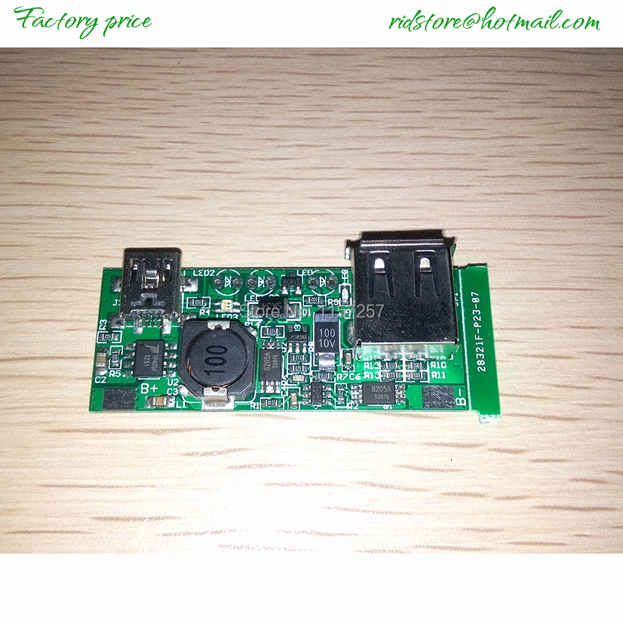 Dc Voltage Regulator Module Usb Charger Pcb Board 5v 1a With Mini Circuit Schematic Diagram Of Regulated Phone Input And Standard Output For Mobile In Inverters Converters