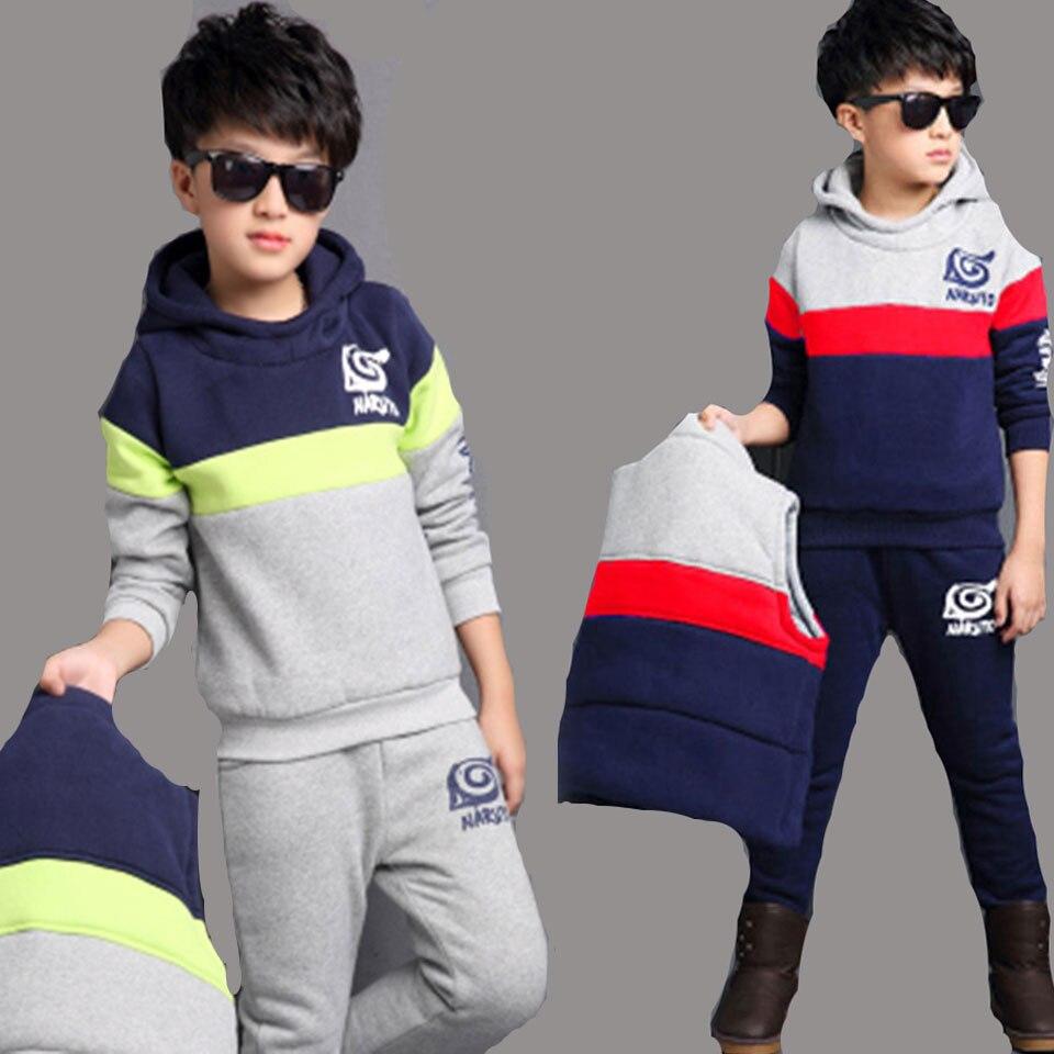 Baby Boy Girl Autumn Clothes Set Toddler Kids Clothing Cartoon Printed Long Sleeve Girl Coat Pants 2 Pcs/set 4 6 8 10 12 Years