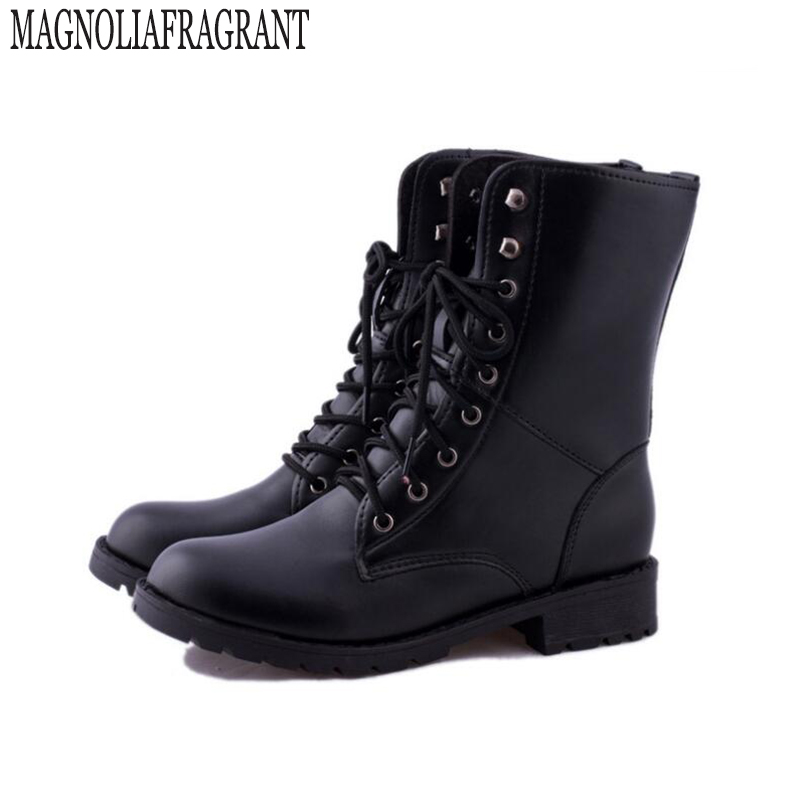 Female winter boots New England Style Martin Boots  Women Brand Dr Designer Motorcycle Boots Size 35-42 women's boots z305 new england textiles in the nineteenth century – profits