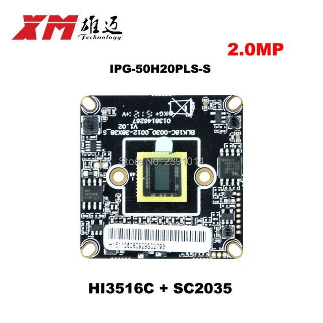 """Atacado XM Genuine 1080 P IPC 1/2. 7 """"CMOS sensor de imagem + Hi3516C IP CCTV camera"""