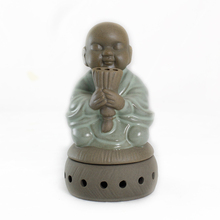Wish little monk incense burners aromatherapy furnace ceramic censers of and