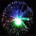Multicolor Fibra óptica lámpara Holiday luz central de la boda Fibra óptica LED noche luz novedad regalos románticos P15