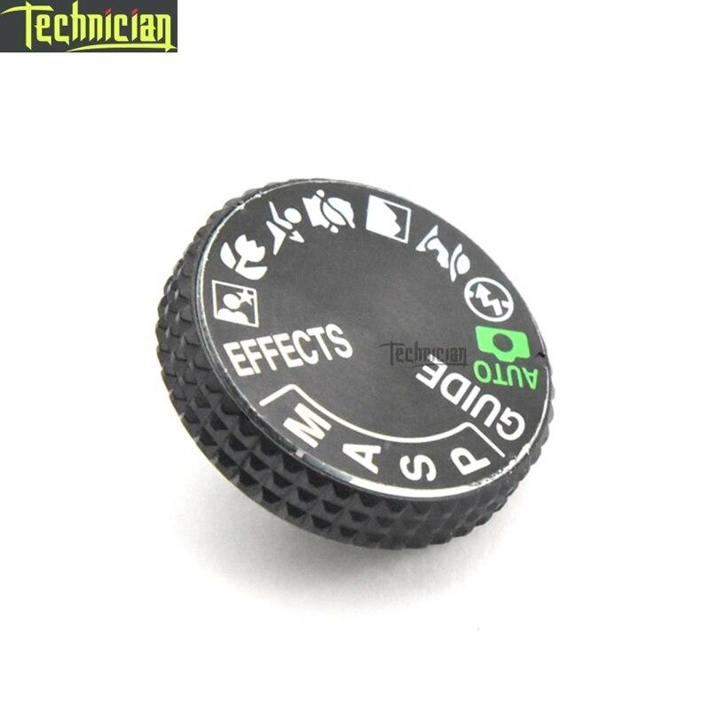 D3400 pièces de réparation de caméra bouton de cadran de Mode de couverture supérieure pour Nikon