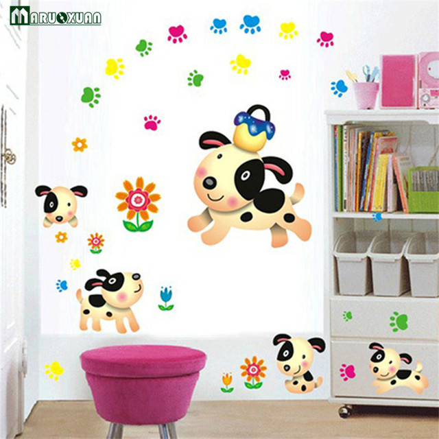 Happy puppy room decor