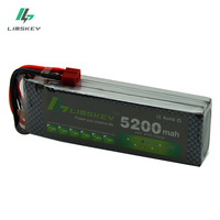 Limskey Power 3S LiPo Battery 11.1V 5200MAH 30C to 35C AKKU 11.1 v Battery For Helicopter Boat 3S Lipo free shipping #150mm