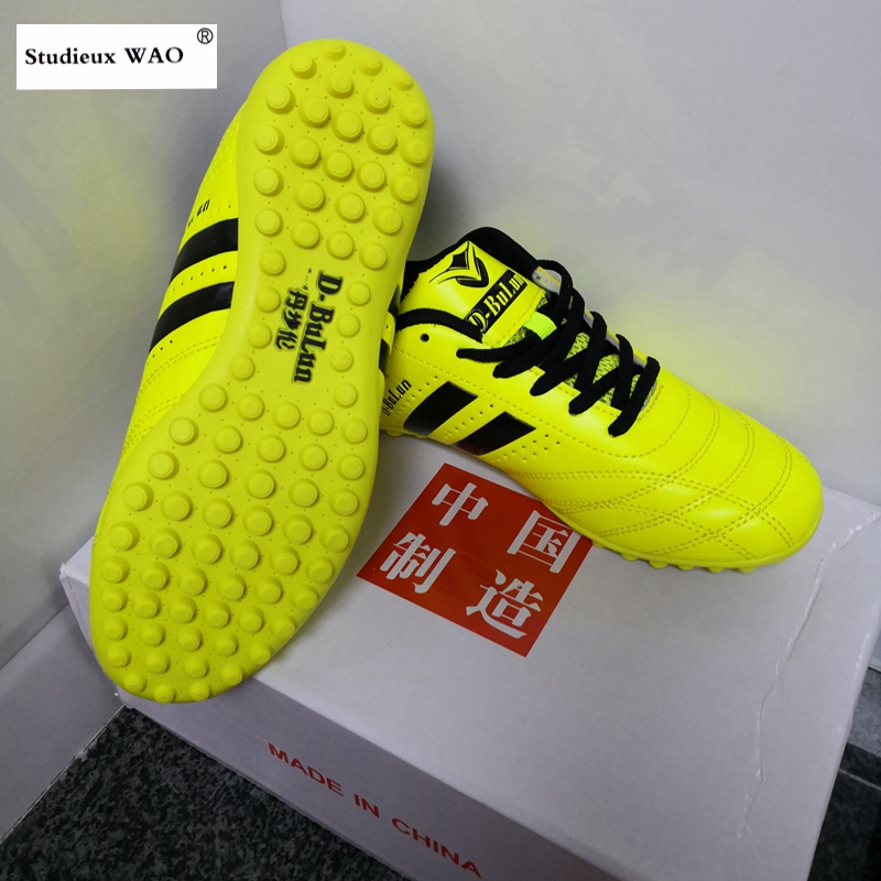 Original Chinese Men Football Shoes Kids Women TF Cleats Training Soccer Shoes Brand New Sports Futsal Boots Quality Sneaker Boy