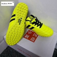 Original Chinese Men Football Shoes Kids Women TF Cleats Training Soccer Shoes Brand New Sports Futsal Boots Quality Sneaker Boy цена