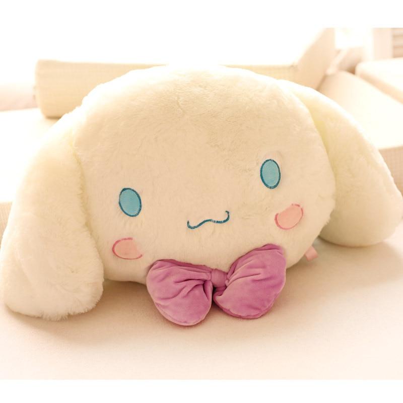 ФОТО candice guo! super q plush toy white puppy cushion soft cinnamoroll dog creative valentine