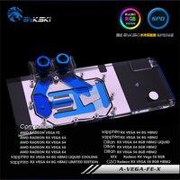 A VEGA FE X geuine bykski gpu block for AMD Radeon Vega Frontier Edition /AMD Radeon RX Vega 64 water cooling cooler head