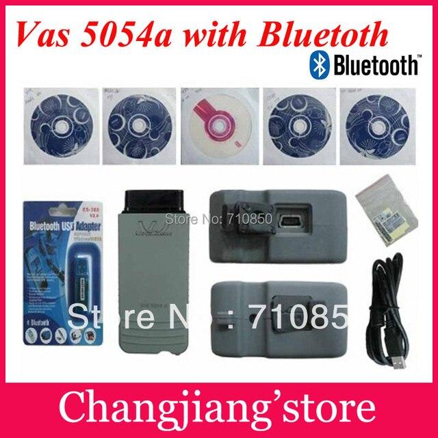 2017 DHL FREE ! NEW top multi-language vas 5054a scanner version VAS5054 vas 5054 Bluetooth vas5054a forVW AU-DI sko-da se-at