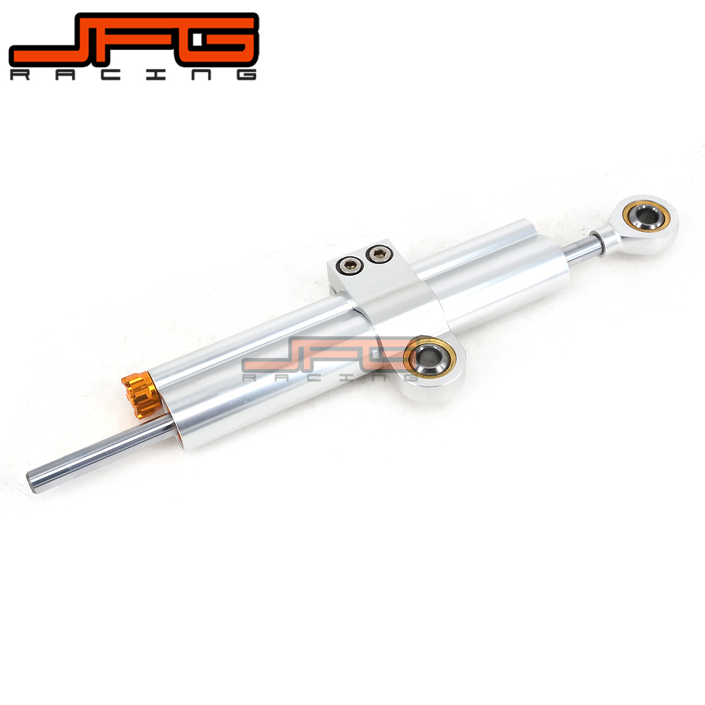Motorcycle Universal Adjustable Steering Damper Stabilizer Linear For KTM HONDA SUZUKI YAMAHA KAWASAKI Free Shipping new motorcycle steering damper stabilizer motorcycle steering damper motorcycle damper for suzuki gsxr250 k6 k8 06 07 08 09 10