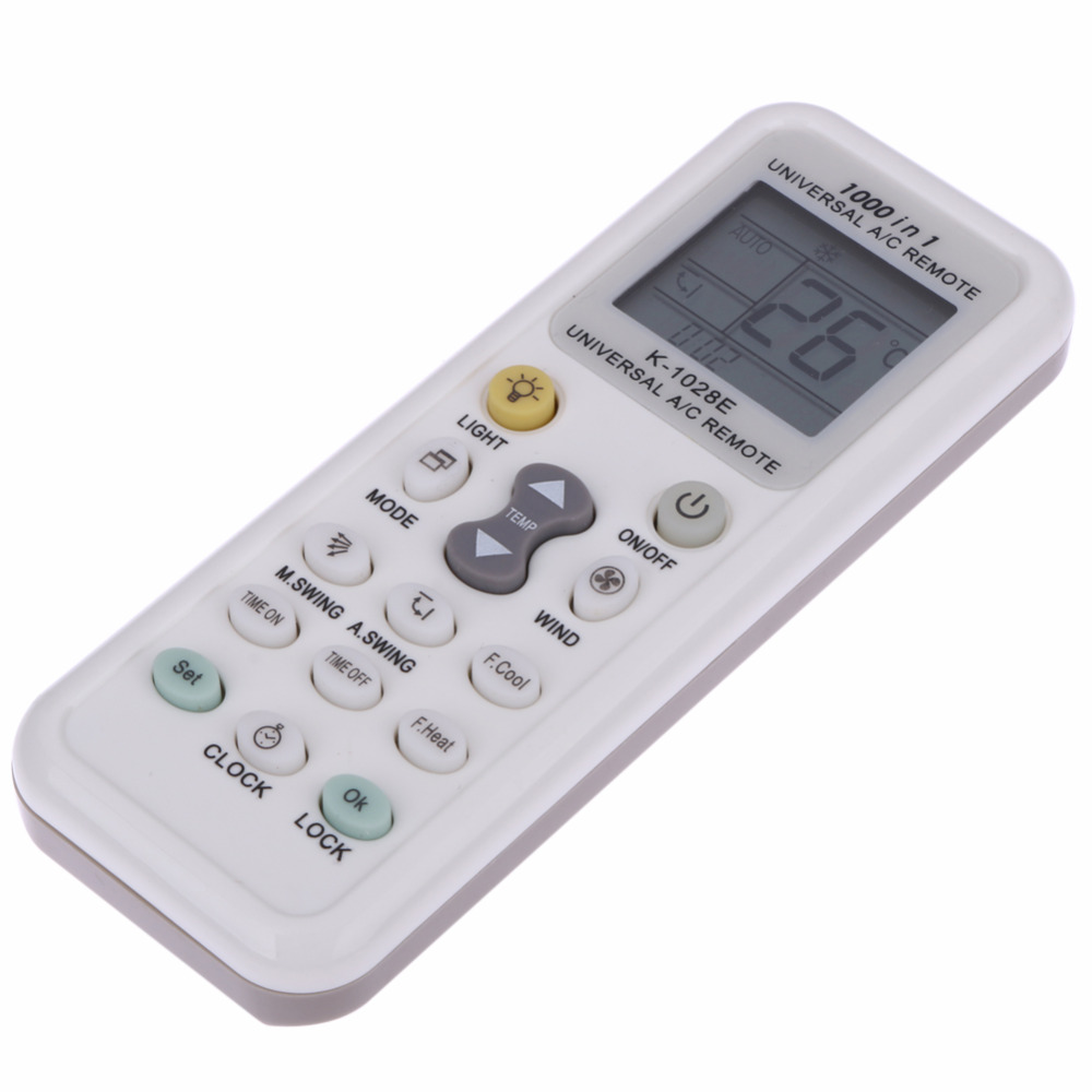 Universal LCD A/C Air Conditioner Remote Control Controller For Air  Condition 1028E Low Power 8~10 Meters Remote Control In Remote Controls  From Consumer ...