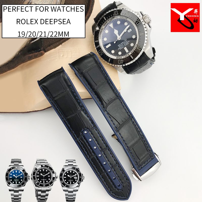 20 мм 21 мм резиновый силиконовый ремешок для часов с нейлоновым ремешком для роля Daytona Submariner DEEPSEA GMT SEAMARSTER 8900 часы