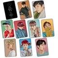 Kpop EXO EX «afortunado estilo crysta transparente pegatina con 10 unidades Sehun Baekhyun Chanyeol Yacía Hacer Suho