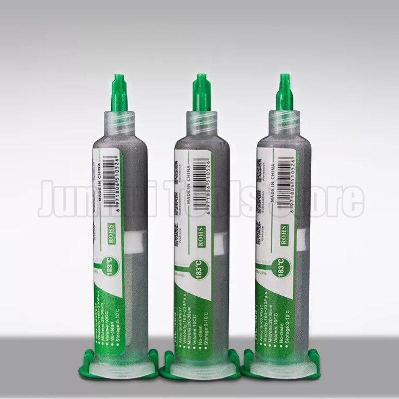 iron Pb67 For Sn63 10Pcs High No-clean Paste Solder soldering 10CC Soldering Solder Paste RELIFE Flux Tin RL-403 quality