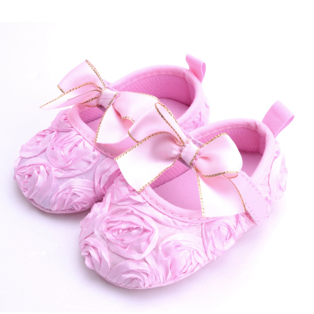 5083c12f4 Flower Spring   Autumn Infant Baby Shoes Moccasins Newborn Girls ...