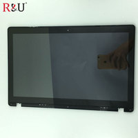 15 6 1366x768 LED LCD Display Monitor Touch Panel Screen Digitizer Glass Assembly With Frame For