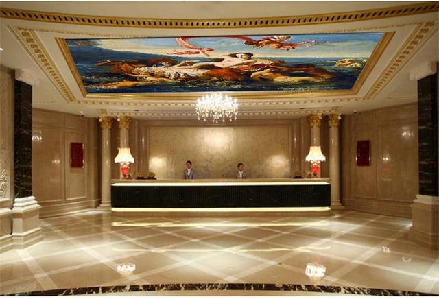 D Papier Peint Au Plafond Personnalis Peintures Murales Non Tiss