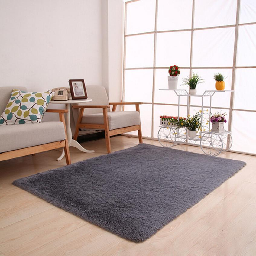Cotton Carpet Living Room Dining Bedroom Area Rugs Anti: CarpetFluffy Rugs Anti Skid Shaggy Area Rug Dining Room