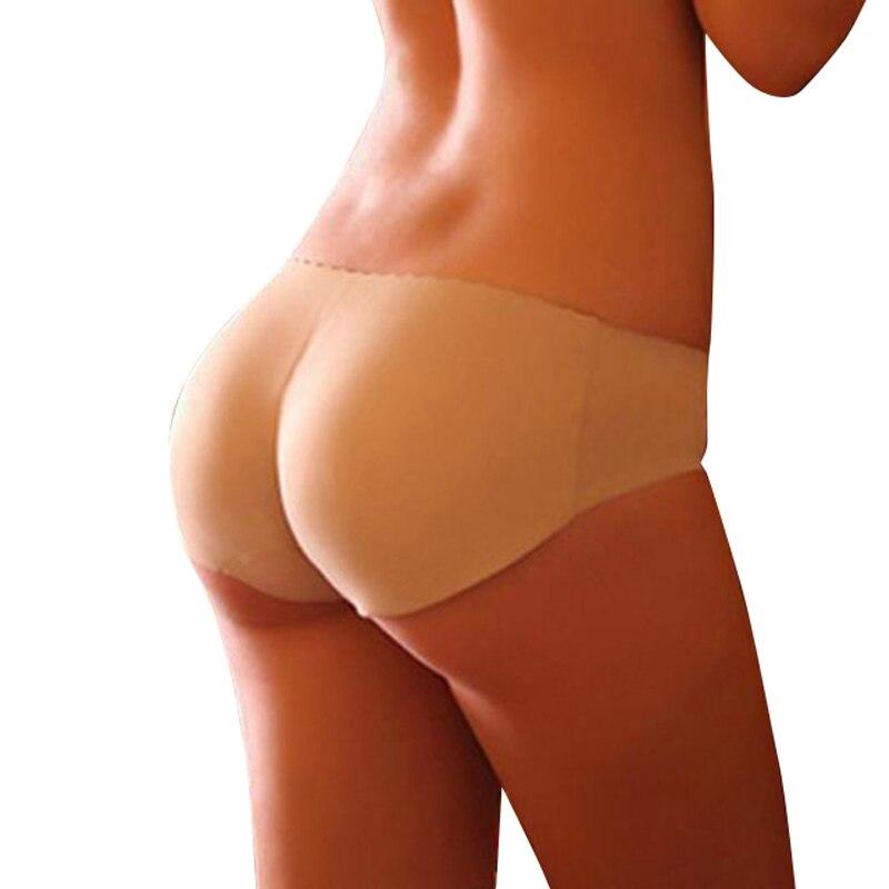Women silicone Butt Lifter Lingerie Underwear Padded Seamless Butt Hip Enhancer Shaper Panties push up buttocks sexy Briefs TH1