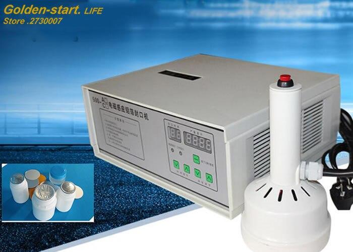 220 V tenuto in Mano induzione elettromagnetica di tenuta della macchina per il medico di plastica sigillante tappo di bottiglia di Alluminio macchina capsulatrice