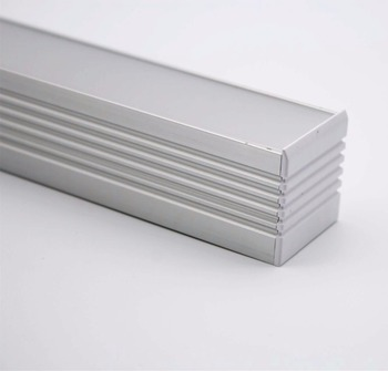 AL3535;LED aluminum profile(anodized silver color) with PC cover;for flexibe or hard LED strips