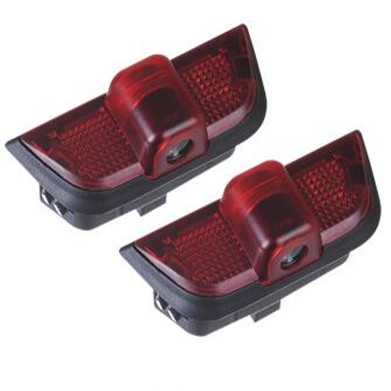 2Pcs LED Logo Car Door Lamp Laser Projector Warning Light for Mercedes C-Class W204 08-14 C200 C300 C260 C280 C230 image