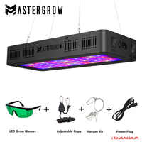 LED Grow Light 300/600/800/900/1000/1200/1800/2000W Full Spectrum 410-730nm for Indoor Plants and Flower Greenhouse Grow Tent