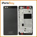 Ipartsbuy para huawei p8 lite front housing moldura quadro placa lcd + tampa da bateria de volta