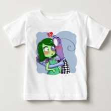 Hot sale Inside Out Kids Childrens Clothing T Shirt Lovely Boy Girl Clothes T-Shirt Cartoon  fear hate clothing MJ