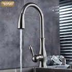 XOXO luxus küche wasserhahn kopf qualität kupfer pinsel nickel exporte zerstäubung pull out kitchen sink armaturen mischbatterie 83034 - 6