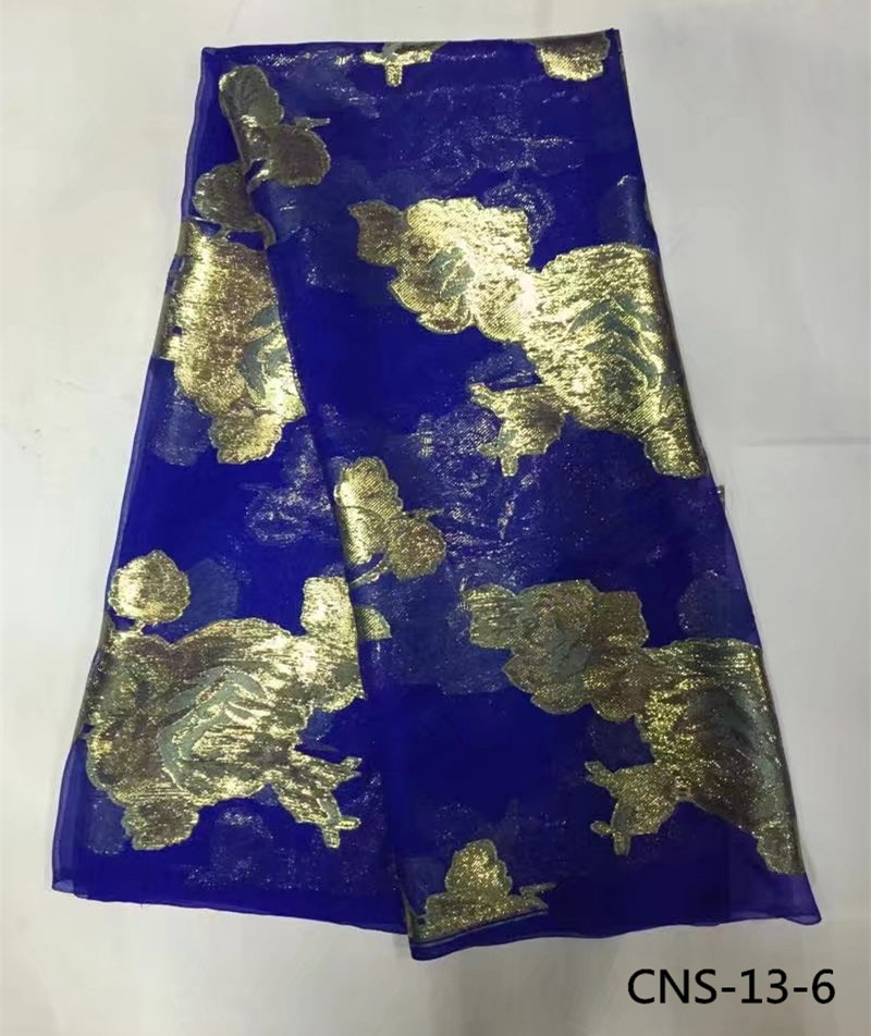 Top quality african 100 real silk fabric 5 yards lot hot selling veritable silk fabrics for
