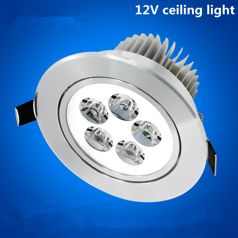 Led Recessed Ceiling Light 3W 4W 5W 12v Dimmable LED Down