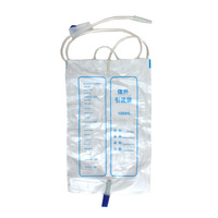 40Pcs 50Pcs 1000ML Disposable Medical Urine Bag Hospital Postoperative Urinary Incontinence Urine collection Bag