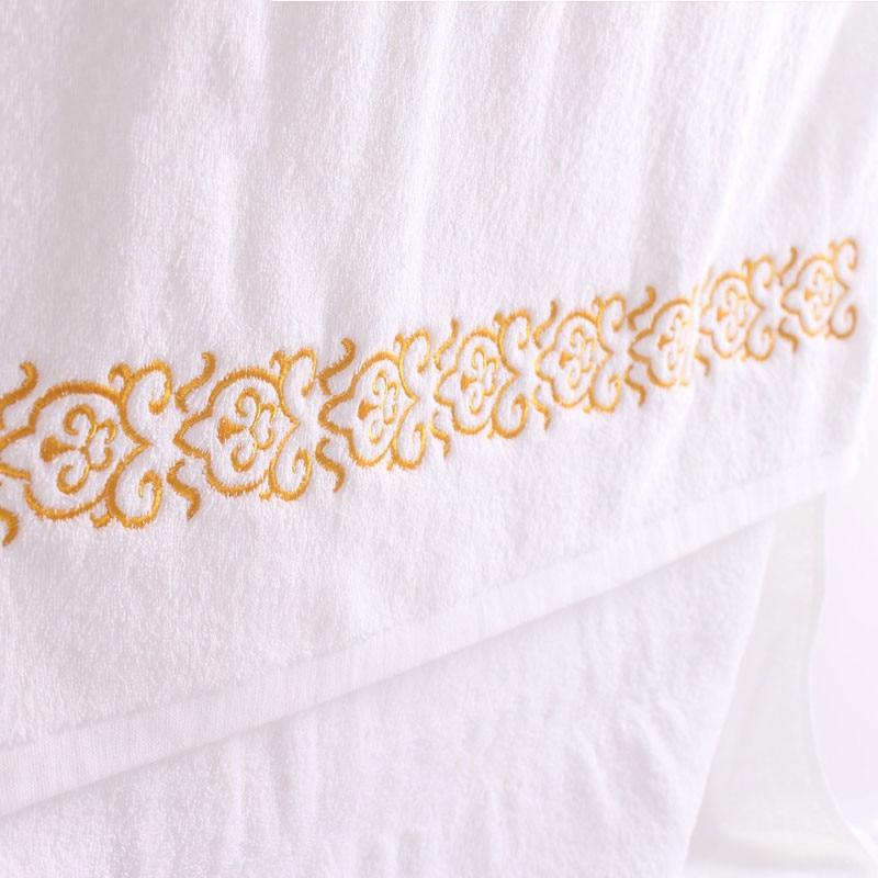 White Hotel Cotton Hand Bath Towel Sets Bathroom For Adults Serviette De Bain All For Bath