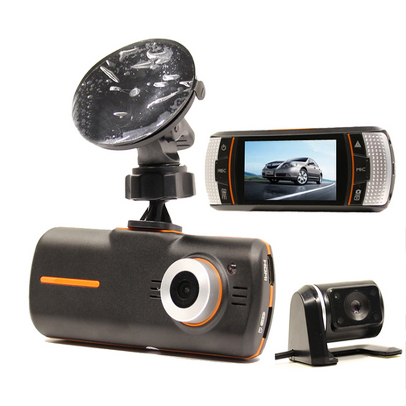 Excellent! F90G Dual lens Car DVR Camera Recorder G-sensor Full HD 1080P 20FPS 2.7'' LCD 140 degree lens H.264 Car dvr camera автомобильный видеорегистратор k6000 car camera car dvr 1080p full hd k6000 25fps g 140