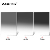 Zomei 100 100mm Square ND Import Optical Glass Neutral Density 1 Stop ND2 Filter