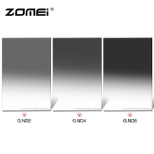 Zomei 100*150mm Square ND Import Optical Glass Neutral Density ND2 4 8 Filter