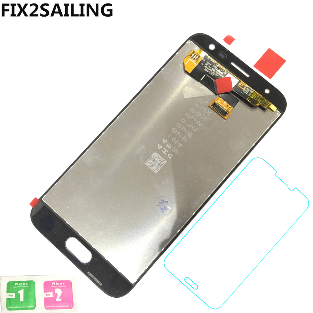 Super AMOLED LCD Display 100 Tested Working Touch Screen Assembly For Samsung Galaxy J3 2017 J330