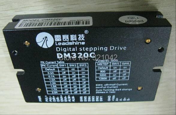 цена на Leadshine DM320C 2 Phase Leadshine digital stepping drive 0.5-2A 18-30VDC Low Speed Nema14 15 17 Stepper Motor Drive