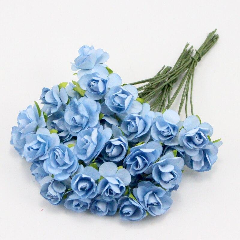 Bouquet de roses artisanales Lucia | Fleurs décoratives pour fête de mariage, matériaux floraux de bricolage A0203