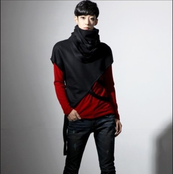 New Arrival Original Unique Hoodies Man Korean Yuppie Temperament Of - Pánské oblečení