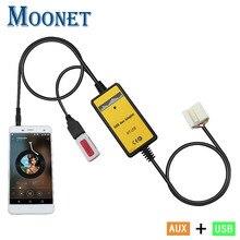 Moonet Автомобильный MP3-плеер USB адаптер AUX вспомогательный TF SD цифровой диск коробка стерео CD для смены S2000 Accord Pilot QX003