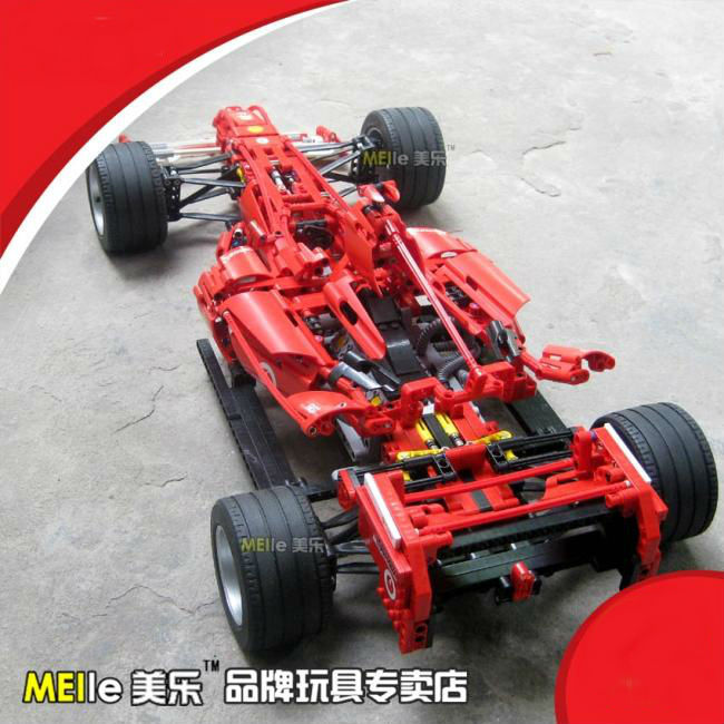 Decool Formula Racing Car 1:8 Model 3335 Building Blocks Sets 1242pcs Educational DIY Bricks Toys for Children