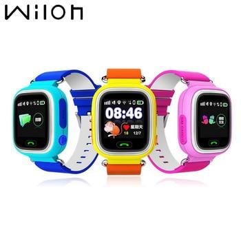 6ce91b8187c0 1 pc Q90 de seguimiento GPS reloj pantalla táctil LBS WIFI GPS de  localización smart watch niños llamada SOS de rastreador del cuerpo reloj  anti-Perdida