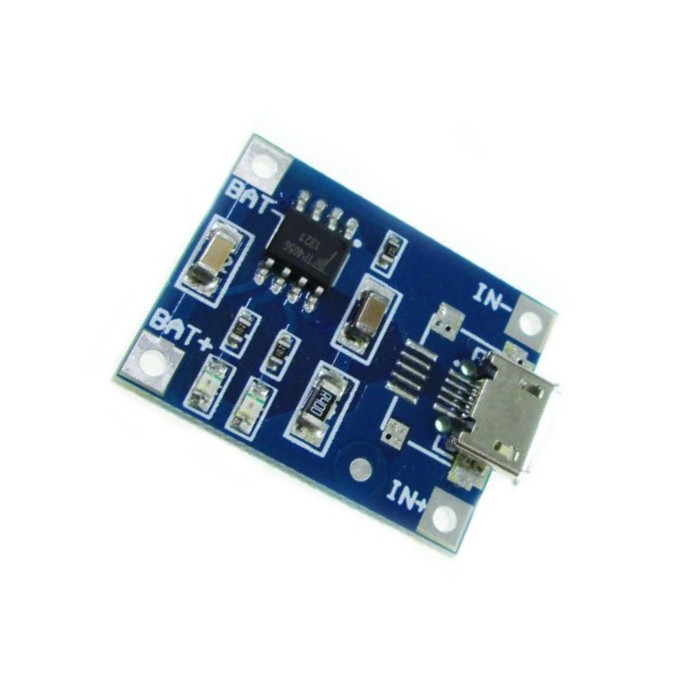15V Micro USB 1A 18650 Lithium Battery Charging Board Charger Module15V Micro USB 1A 18650 Lithium Battery Charging Board Charger Module