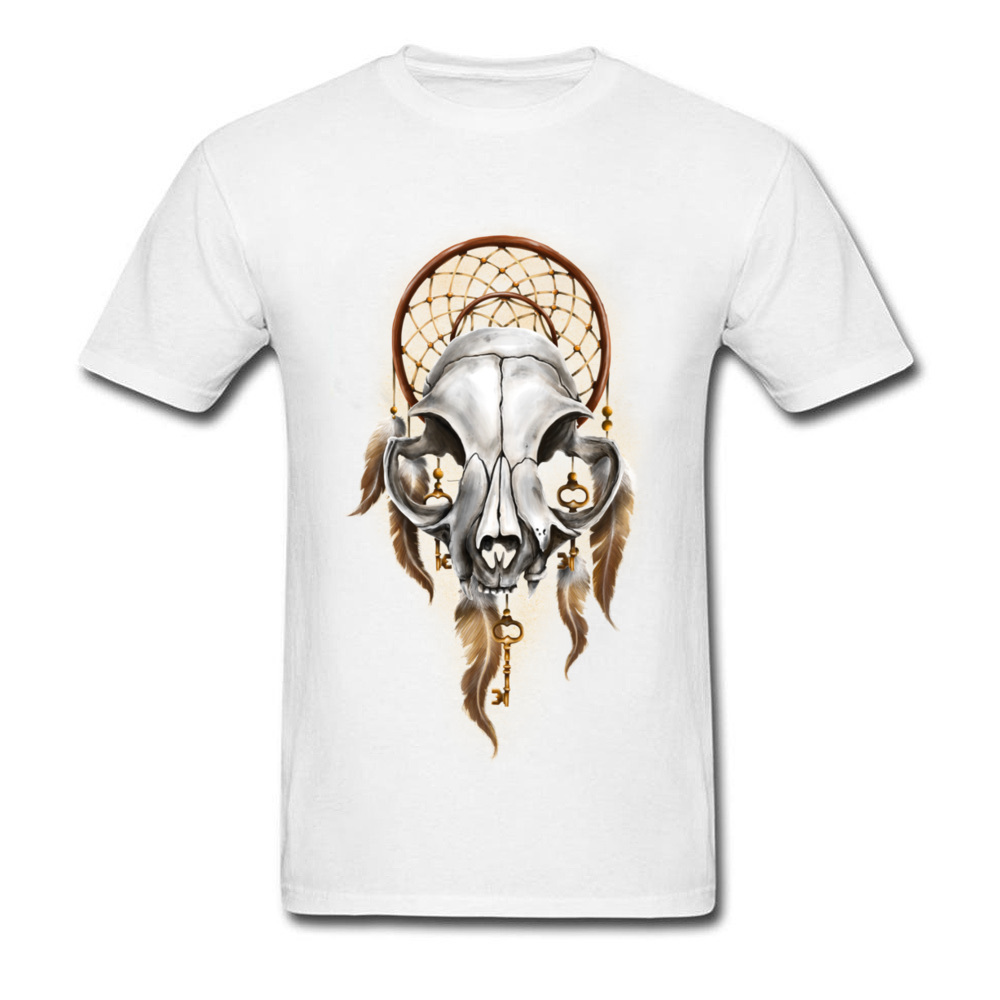 134153a66e9 Newest Designers Bearded Skull T Shirt For Men Plus Size Metallica Skull T  Shirt Indian Tribe Elders Skull 3D Print Tees On Sale-in T-Shirts from Men s  ...